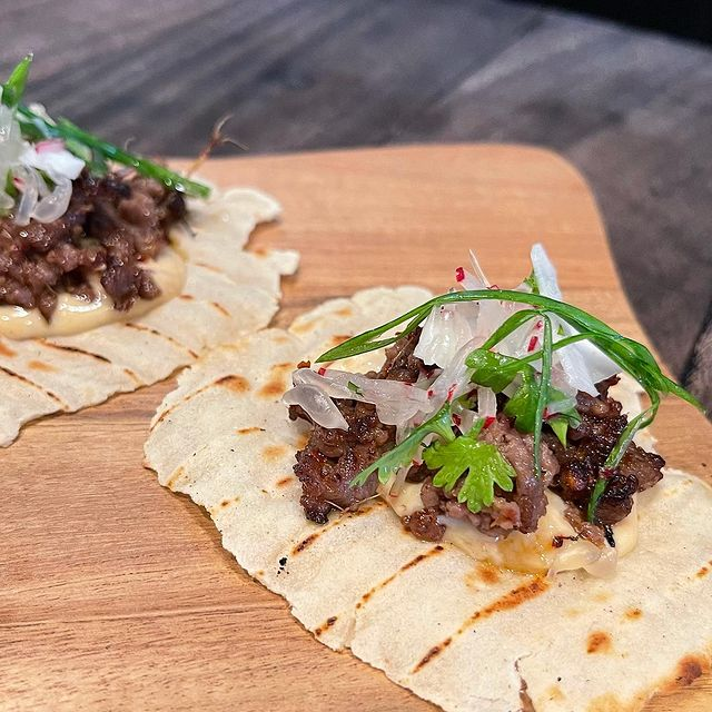 Beef and Red Curry Taco's